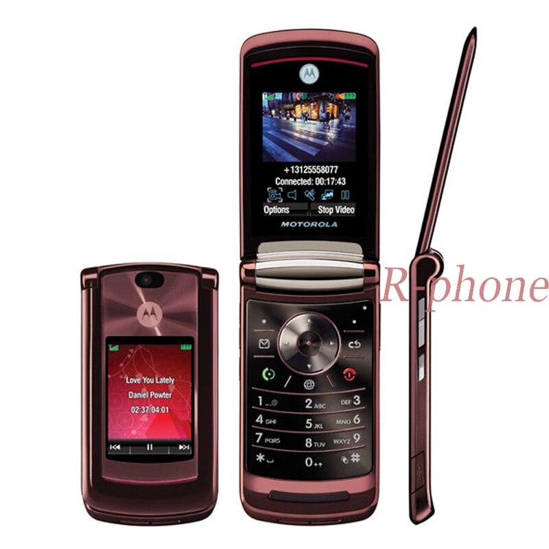 "Refurbished Unlocked Motorola RAZR2 V9 2.2"" Mobile Phone 2MP Cell Phone-in Cellphones from Cellphones & Telecommunications    1"
