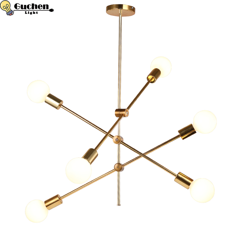 Chandelier Lighting Globe Branching Bubble Chandeliers 110V220V Nordic Modern Light Pendent hang Lamp adjust Ball gold Lamps E27 цены