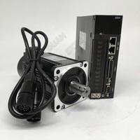 600W 0.6KW AC Servo Motor Drive Kits NEMA24 60mm 220V 3000r/min Modbus RS485 Replace Yaskawa Panasonic Fuji Delta for CNC
