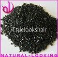 Free shipping,Black colors 100%Italian keratin glue /beads/grain for keratin hair,keratin glue for hair extension