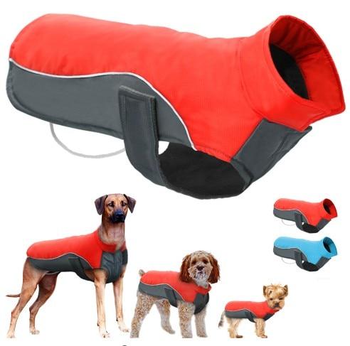 Waterproof Dog Winter Coat Warm Puppy Jacket Vest Pet Clothes Apparel Dog Clothi