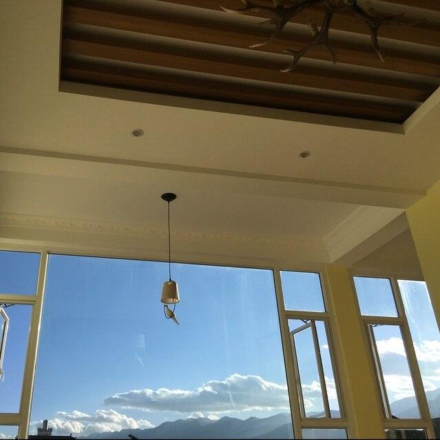 Lampes à oiseaux primitives américaines avec abat-jour en tissu arts et artisanat modernes lampes à suspension pour oiseaux salle à manger éclairage intérieur pour la maison Luzes