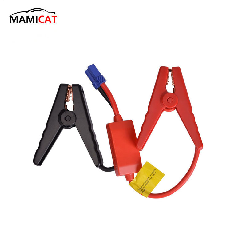 1PCS New Emergency Lead Cable Battery Alligator Clamp Clip For Car Trucks Jump Starter Clamps