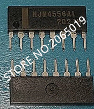 10ピースNJM4556AL NJM4556A NJM4556 NJM 4556AL SIP 8新しい