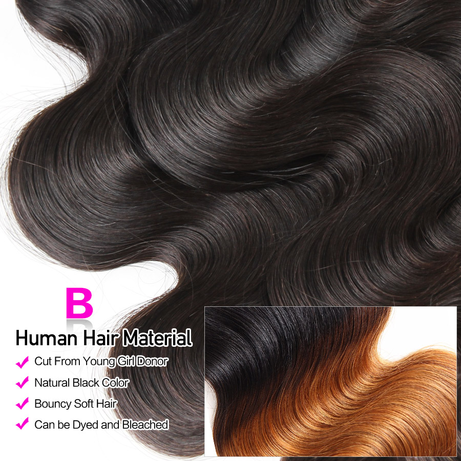 HTB1FMTLXyLrK1Rjy1zdq6ynnpXaR Hermosa Human Hair 3 Bundles With Frontal Closure Brazilian Body Wave 13x4 Lace Frontal With Bundles Middle Ratio Non-Remy Hair