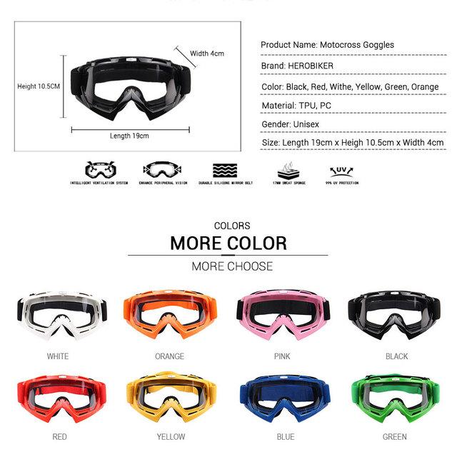Skiing Biker Goggles