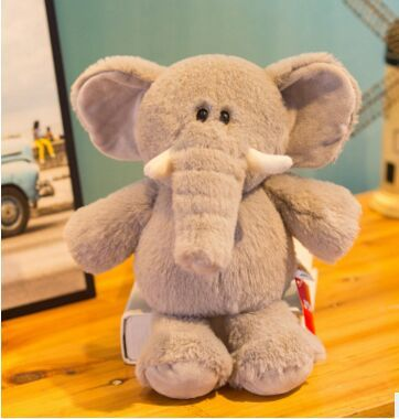 about 28cm lovely cartoon elephant plush toy soft doll kid's toy birthday gift w2116 | Stuffed & Plush Animals