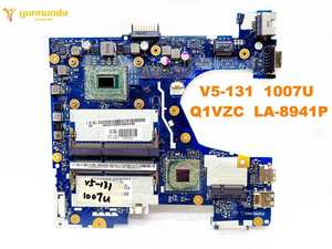 Original for ACER V5-131 laptop motherboard V5-131 1007U Q1VZC LA-8941P tested good free shipping