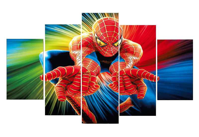 Spiderman Wall Decor online buy wholesale spiderman wall art frame from china spiderman