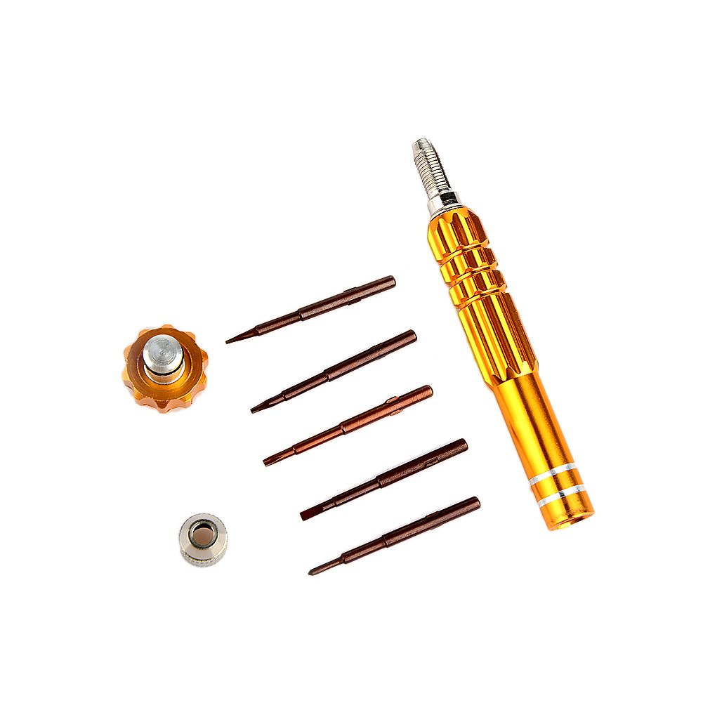 5 in 1 Screwdriver Mobile Phone Disassembly Maintenance Kit Combination Aluminum Alloy Kit 5 Colors hand tools 1 set