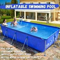 2*4 м открытый надувные ласты для рук бассейн Семья сад детские Нескользящие бассейны wimming и дайвинг бассейн и аксессуары