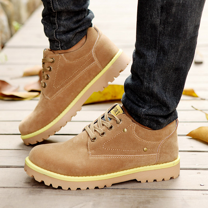 New 2017 Autumn Winter Hot Men Fashion Suede Leather Shoes ...