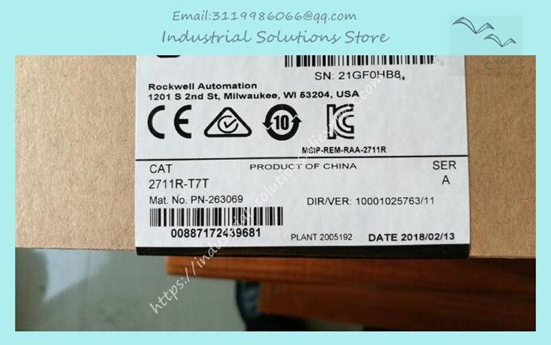 Nova caixa original HMI MÓDULO 2711R-T7T 1 ano de garantia