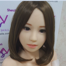 SYDOLL #56 japanese girl silicone sex doll head suit for 135cm/140cm/148cm/153cm/152cm/155cm/158cm/163cm/165cm/170cm
