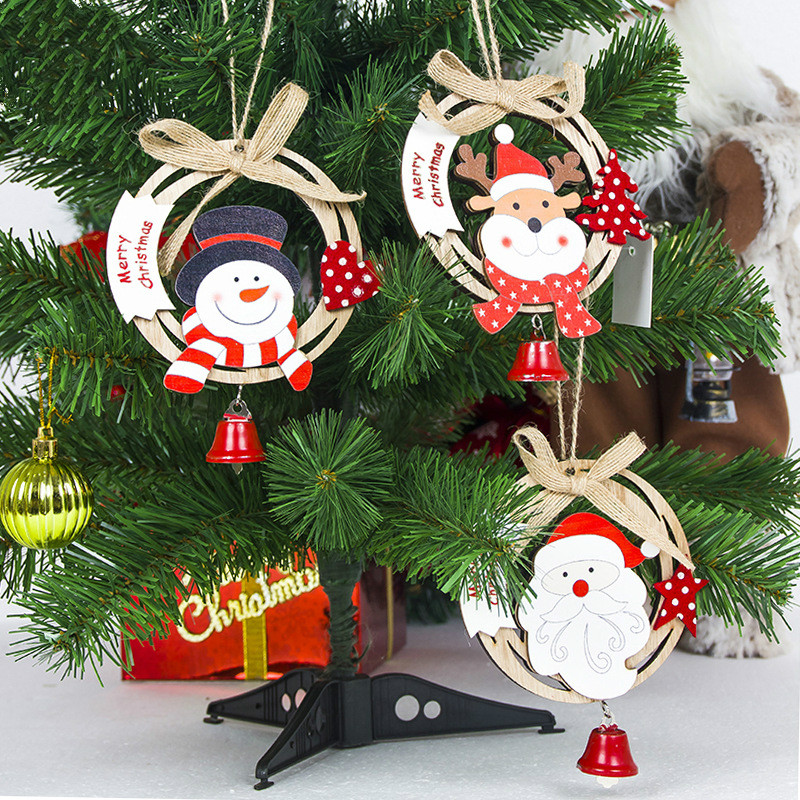 Zotoone Wooden Christmas Decorations For Home Outdoor Santa