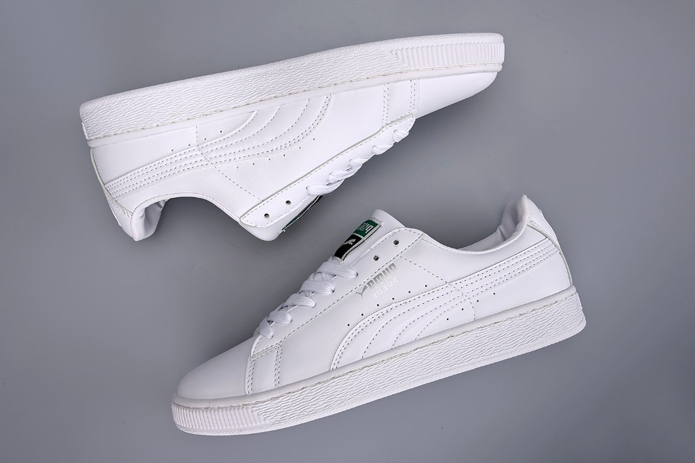 free shipping Puma shoes men  reproduction of the classic leather material
