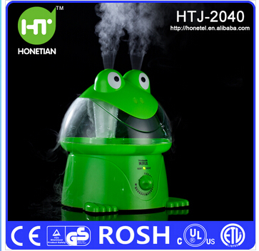 ФОТО Oil Aroma Diffuser Air Humidifier Frog Cartoon Humidifier Anion Atomizing Humidifying Ultrasonic Humidifying Cool Mist Maker
