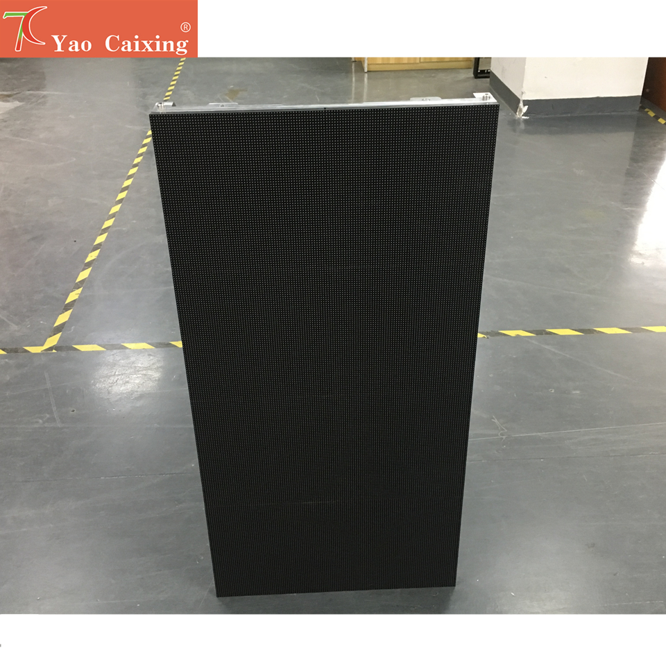 Ali Express 500x1000mm P3.91 Rgb Indoor Rental Aluminum Cabinet Display Screen Smd Stage Rental Screeen Dot Matrix Led Display