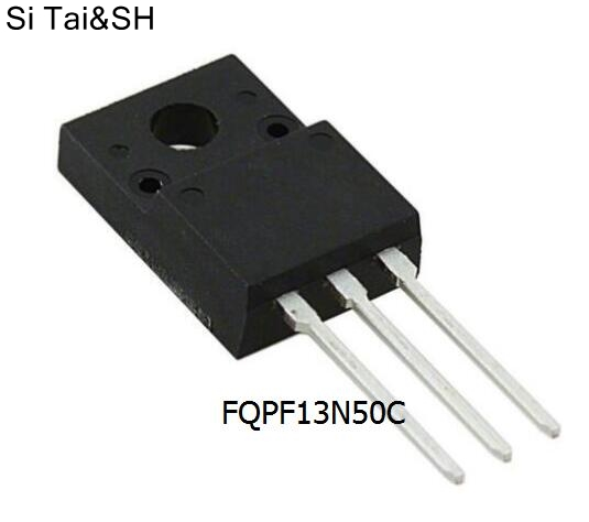 fqpf13n50c datasheet - 10pcs/lot New FQPF13N50C TO-220F 13N50 13A 500V 13N50C Liquid crystal field effect tube