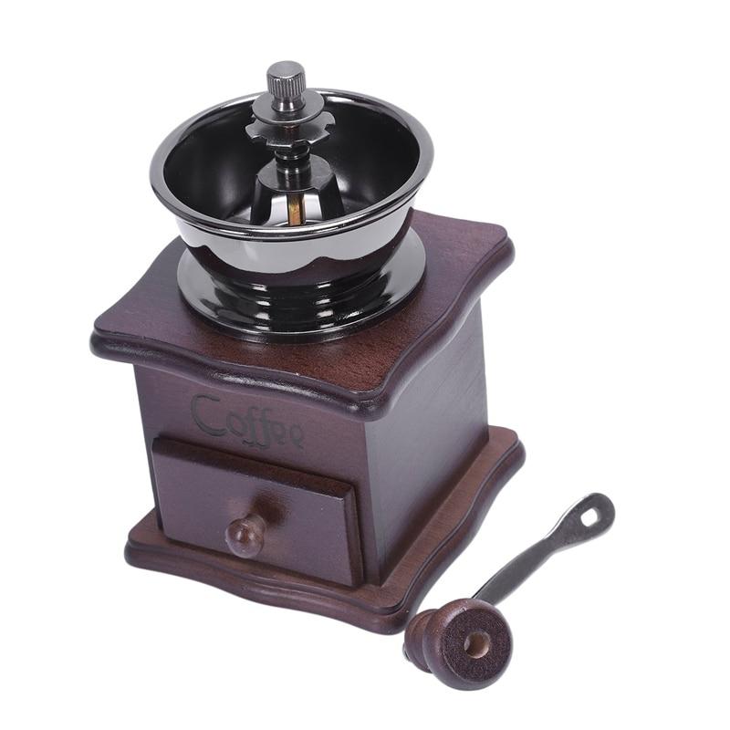 Manual Coffee Grinder, Hand Beans Grinding Machine, Burr Mill,Manual Bean Grinder