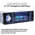 "4.1 ""HD Tela de LCD Auto Car MP3 MP4 MP5 Player Veículo de Controle Da Roda Bluetooth Interno + microfone Hands-free FM rádios Estéreo"