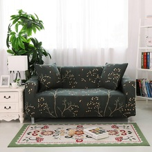 купить Four Seasons Sofa Cover Stretch Furniture Covers Protector Polyester Modern Loveseat Couch Cover Plaid on the Sofa Case for Sofa дешево