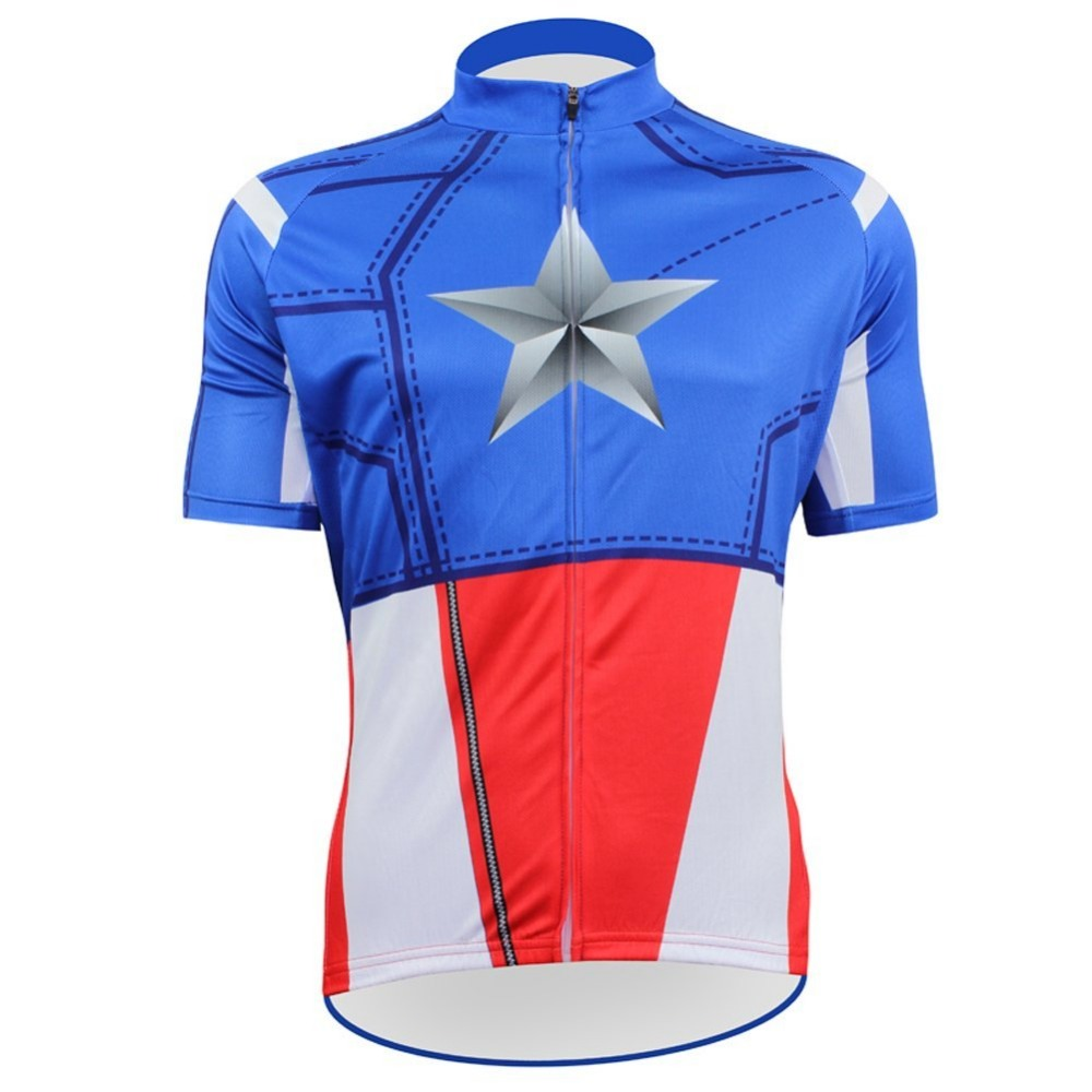 Hot Superhero Cycling Jersey Many Models Choice Mtb Bike Clothes