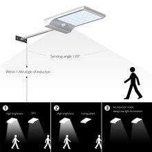 High Power Solar Outdoor Garden Street Flood light Led Solar Panel Powered Lamp Path light Sensor night Security Wall lighting