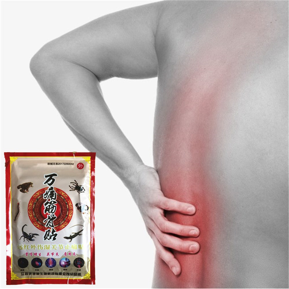 Spider venom Pain relief orthopedic plasters analgesic patches Massage Essential oil rheumatism treatment joint back pain image