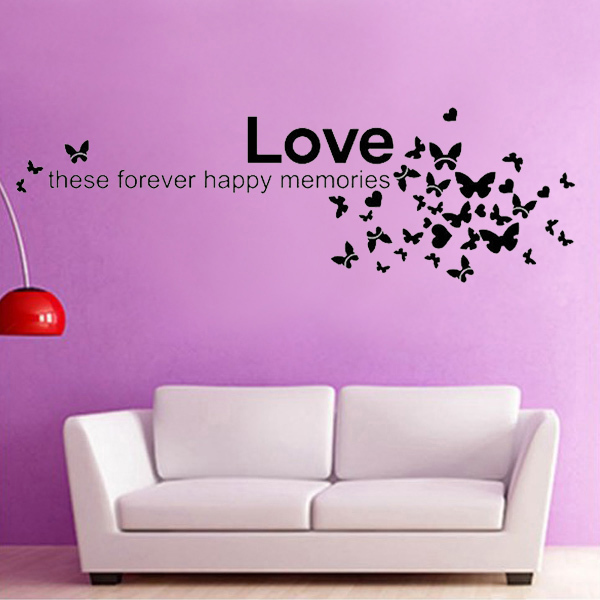 Love these forever happy memories and Butterfly Wall Stickers ...
