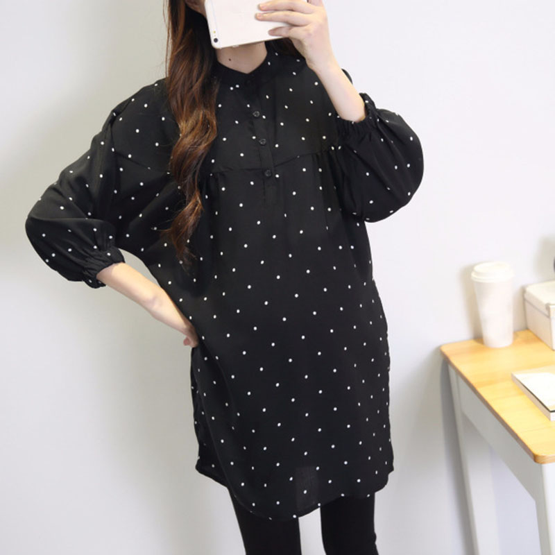 2018 Loose Large Size Pregnant Women Dresses Maternity Nursing Dress for Pregnant Women Pregnancy Womens dress Clothing A043