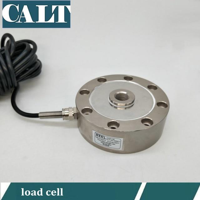 8 Foro del Raggio di Pesatura Forza Peso Tirare Sensore di Pressione cella di carico scala Scrane pista hopper scala 200 500 800 kg 1 5 10 50 T t
