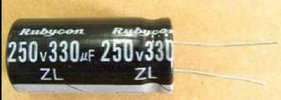 Electrolytic Capacitor 250V 330UF Capacitor Digital Components
