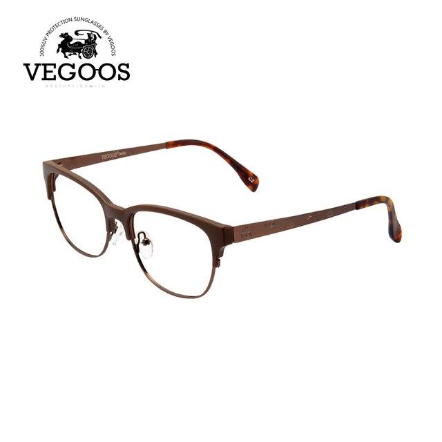 1642c0e8b0e VEGOOS Brand Design Eyeglasses Frames Men Memory Titanium Glasses Frame  Women Eye Glasses Myopia Frame Unisex