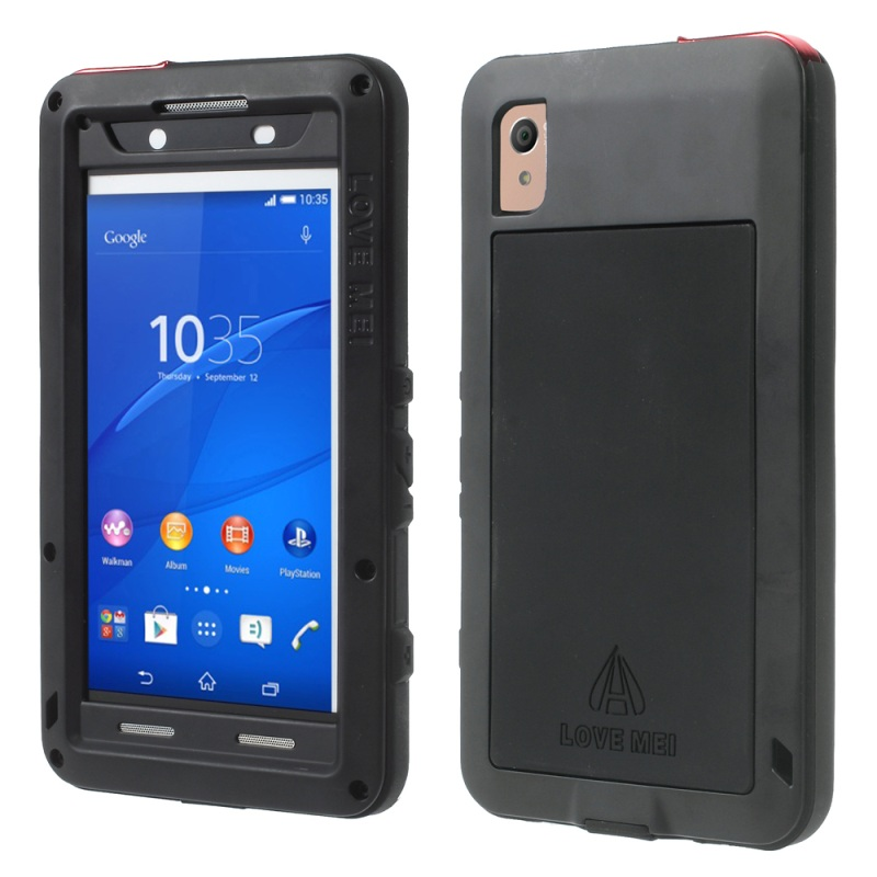 For Sony Xperia Z3 dual LOVE MEI Shockproof Dropproof Dustproof Powerful Case for Sony Xperia Z3