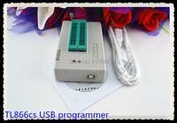 Spedizione gratuita Russo manuale Prezzo Più Basso 100% V6.6 TL866CS EEPROM PIC AVR TL866 High Speed USB Universale BIOS Programmatore