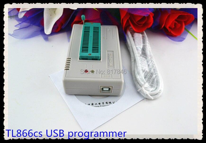XGECU V7.30 TL866II Plus EEPROM PIC AVR TL866A TL866CS USB Universal BIOS nand Programmer 24 93 25 mcu Bios EPROM