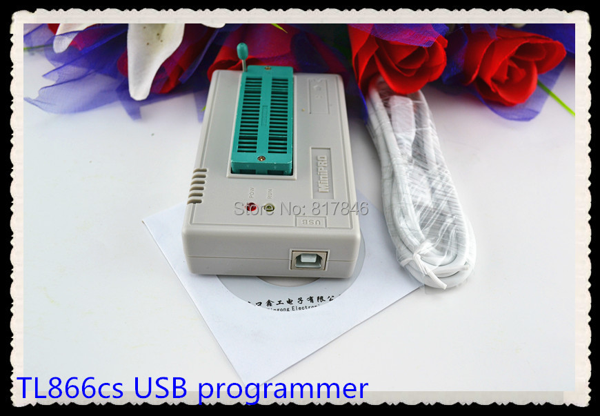 XGECU V7.32 TL866II Plus EEPROM PIC AVR TL866A TL866CS USB Universal BIOS nand Programmer 24 93 25 mcu Bios EPROM цена