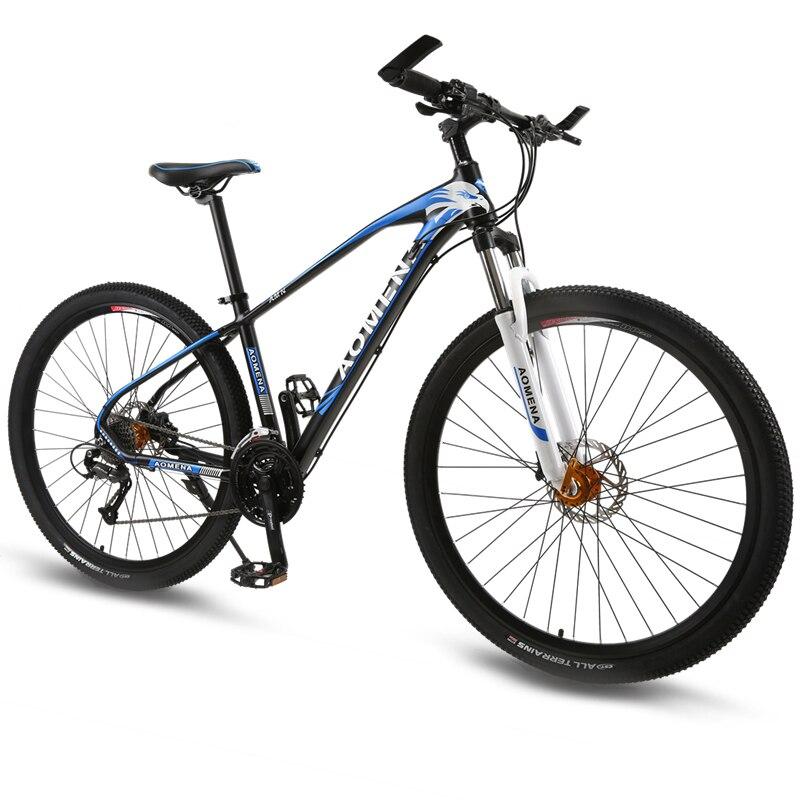 Горный велосипед 27 Скорость 29 дюйм(ов) колеса двойной дисковый тормоз Алюминий рамы велосипеда MTB Гидравлический тормоз дорожный мотоцикл н...