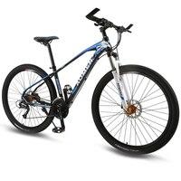 Горный велосипед 27 Скорость 29 дюйм(ов) колеса двойной дисковый тормоз Алюминий рамы велосипеда MTB Гидравлический тормоз дорожный мотоцикл н