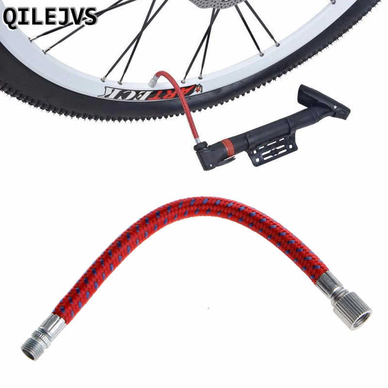 QILEJVS 1PC Bicycle Pumps Bike Inflate Pump Hose Adapter Needle Valve Football Basketball Air Bed Tyre Cycling Accessories