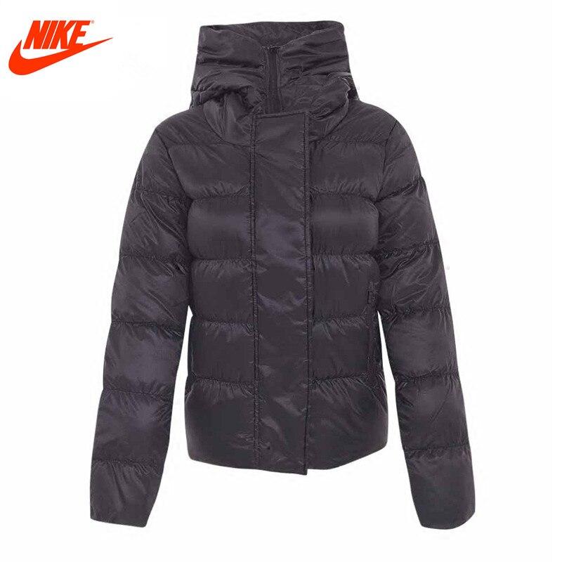 Nike Original Women Winter Sport Hooded Windproof <font><b>Jacket</b></font> 815724-010
