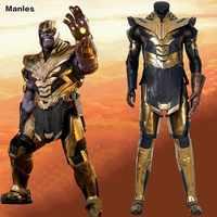 Avengers 4 Endgame Kostüm Thanos Cosplay Unendlichkeit Gauntlet Mad Titan Dark Herr Erwachsene Halloween Stiefel Helm Anzug Ohne Handschuhe