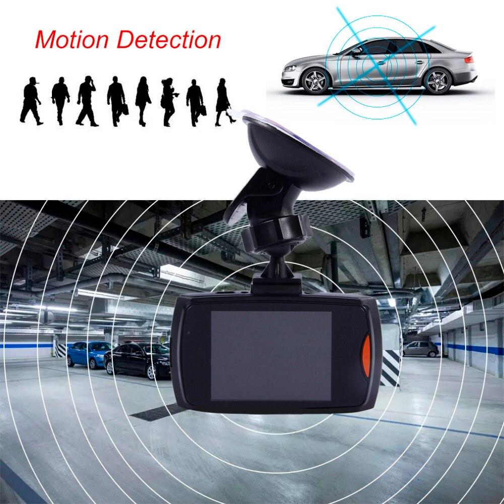 2.4 Pouce LCD Écran HD 1080 P Voiture Dash Cam DVR Video Recorder Night Vision Caméra Tachygraphe G-capteur fonction