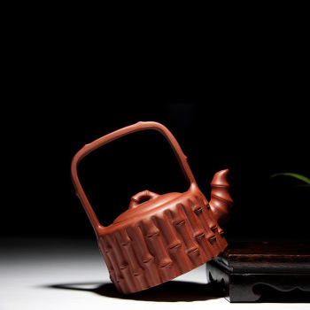 Yixing masters all handmade bamboo girder are recommended travel teapot kung fu tea tea set gift customization