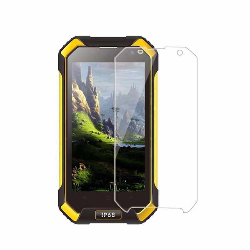 Cho blackview bv8000pro bv7000pro bv6000 Tempered Glass 9 H 2.5D chất lượng cao Protector Filmfree viền trắng lỏng