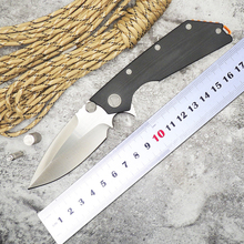 WLT flip Tactical survival folding knife 9Cr18Mov blade G10 handle camping pocket knives outdoor hunting EDC tools