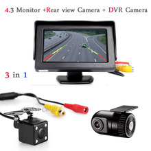Koorinwoo Vehicle Rearview mirror DVR and camera Car DVRs Camera DashCam Hidden Car DVR Recorder Auto Rear view camera Radar