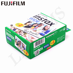 Image 2 - 10 100 Sheets Fujifilm Instax Wide White edge + Rainbow + Black Films for Fuji Instant Photo paper Camera 300/200/210/100/500AF