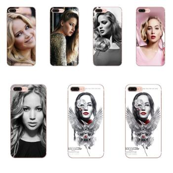 Protective Unique Design Phone Case For Apple iPhone 4 4S 5 5C 5S SE 6 6S 7 8 Plus X XS Max XR Jennifer Lawrence image